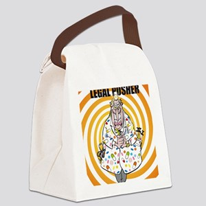 The legal pusher Canvas Lunch Bag