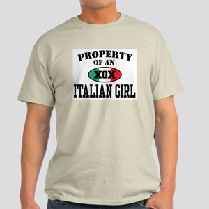 Property of an Italian Girl Light T-Shirt