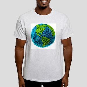 Global Ball of Yarn Light T-Shirt