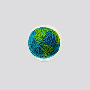 Global Ball of Yarn Mini Button