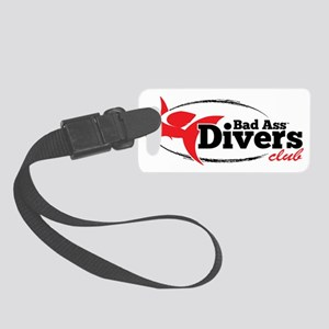 Bad Ass Divers Club Small Luggage Tag