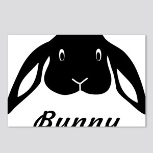 bunny hare rabbit cute Postcards (Package of 8)