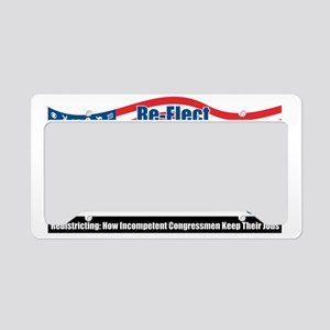gerrymandering License Plate Holder