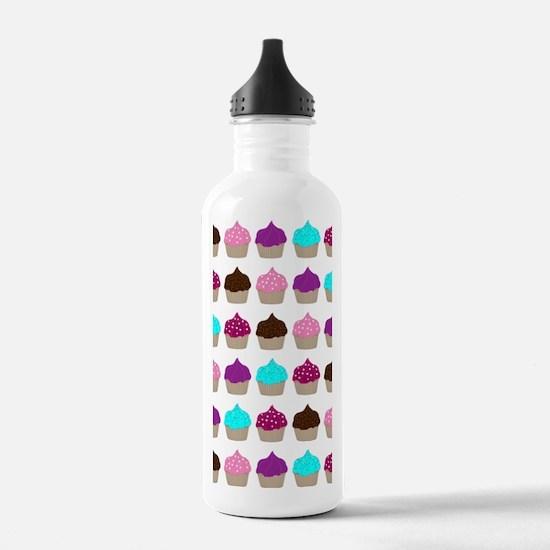 Cupcake Love Clip Boar Water Bottle