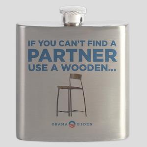 Obama Biden 2012 Flask