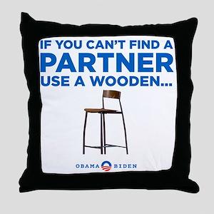 Obama Biden 2012 Throw Pillow