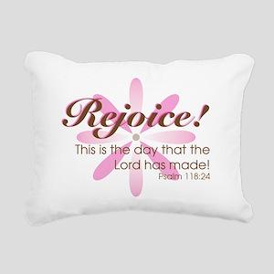 Rejoice! Rectangular Canvas Pillow