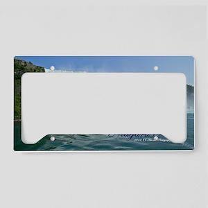 Bridal Falls License Plate Holder