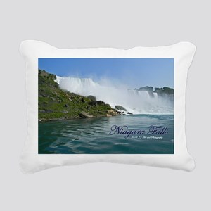 Bridal Falls Rectangular Canvas Pillow