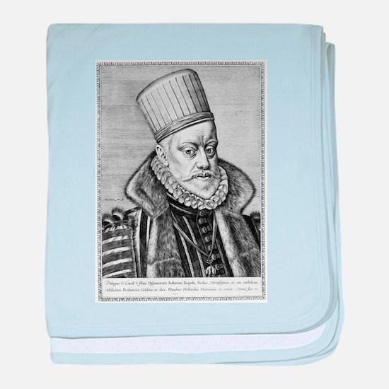 Philip II of Spain - Jeronimus Wierix - 1586 baby