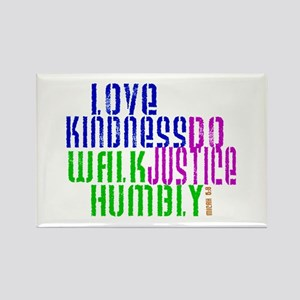 Love Kindness, Walk Gently, Do Justice Rectangle M