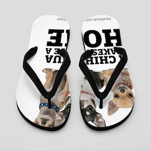 homewithchihuahuas Flip Flops
