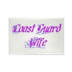Coast Guard Wife ver2 Rectangle Magnet (100 pack)