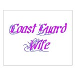 Coast Guard Wife ver2 Small Poster