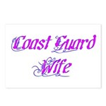 Coast Guard Wife ver2 Postcards (Package of 8)
