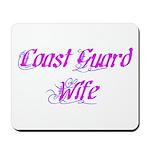 Coast Guard Wife ver2 Mousepad