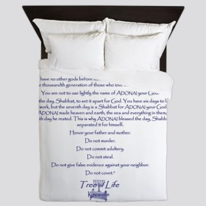 TOL I John shirt back Queen Duvet