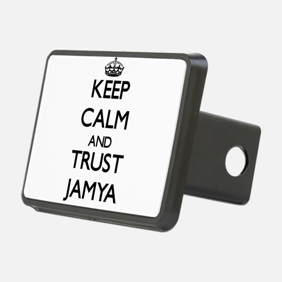 Keep Calm and trust Jamya Hitch Cover