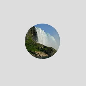Bridal Falls Mini Button