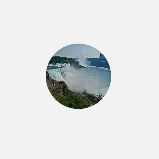 Niagara Falls and Canada Mini Button