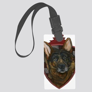 German Shepard Large Luggage Tag
