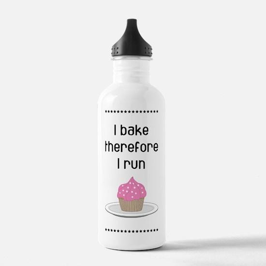 Cupcake w/Pink Frostin Water Bottle