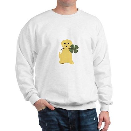 Lucky Yellow Lab Sweatshirt