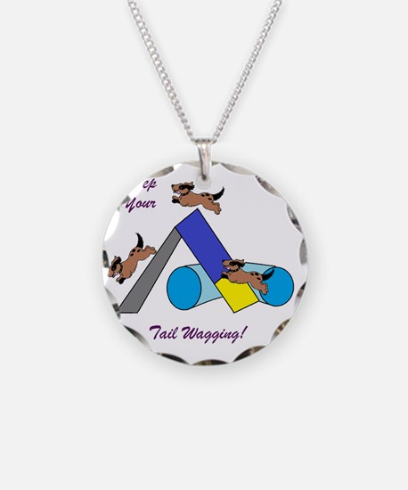 Keep Wagging Necklace