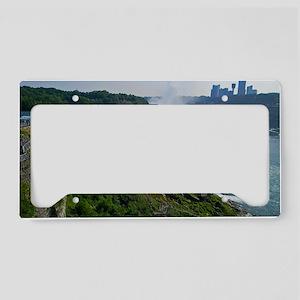 Niagara Falls and Canada License Plate Holder