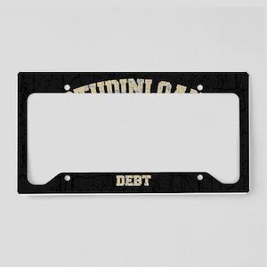 studinloan-OV License Plate Holder