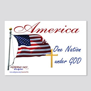 America One Nation Under  Postcards (Package of 8)