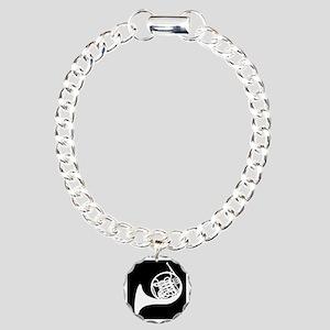 Horn Charm Bracelet, One Charm