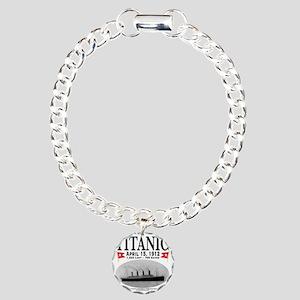 TG2Ghost14x14Centertight Charm Bracelet, One Charm