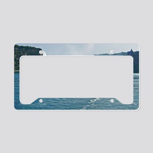 Maid of the Mist and Horsesho License Plate Holder