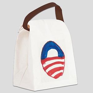 Obama O Canvas Lunch Bag