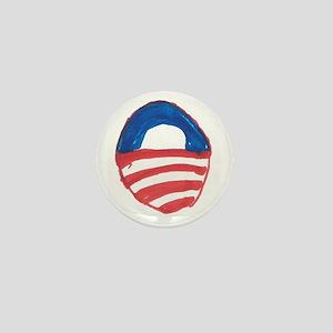 Obama O Mini Button