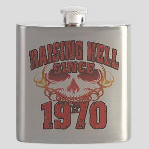 Raising Hell Since 1970 Flask