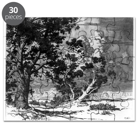 pinon tree coloring pages | Pinon trees, New Mexico - George Elbert Burr - 192 by ...