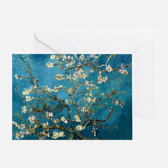 Blossoming Almond Tree, Vincent van  Greeting Card