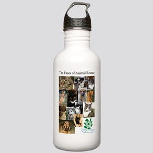 The Faces of Animal Re Stainless Water Bottle 1.0L