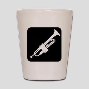 Trumpet Shot Glass