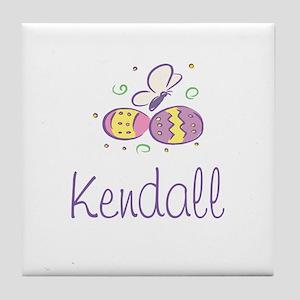 Easter Eggs - Kendall Tile Coaster