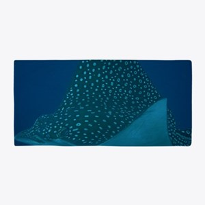 Spotted Eagle Ray 23 x 35 Print Beach Towel