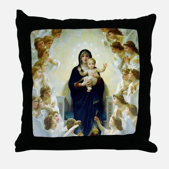 William Adolphe Bouguereau Throw Pillow