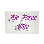 Air Force Wife Rectangle Magnet (10 pack)
