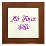 Air Force Wife Framed Tile