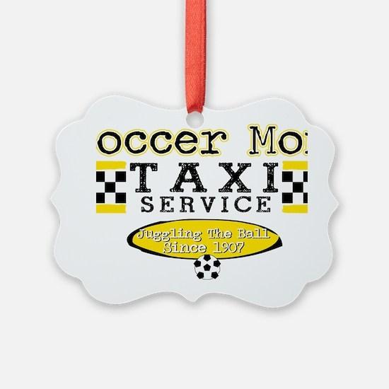 Soccer Mom Taxi Service Ornament