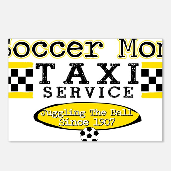 Soccer Mom Taxi Service Postcards (Package of 8)