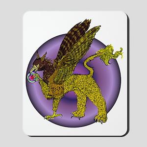 Disc Golf Gryphon Mousepad