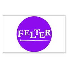 Felter - Felting Rectangle Decal